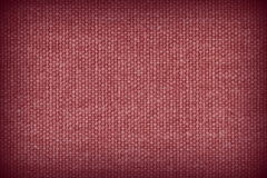 Red and black linen fabric texture background Royalty Free Stock Photography