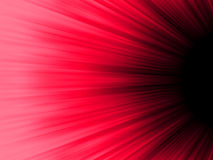 Red and black luminous rays. EPS 8 Stock Image