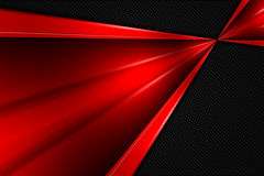 Red and black metal background Stock Photo