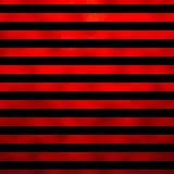 Red Black Metallic Faux Foil Horizontal Stripes Background Stock Photography