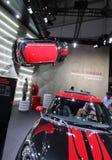 Red and black Mini John Cooper Works Countryman Stock Photo