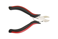 Red and black nippers Royalty Free Stock Image
