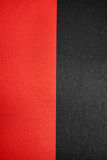 Red and black paper textures. Vertical seamless red and black paper textures Stock Photography
