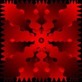 Red-Black Pattern Stock Image
