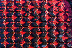 Red and black patterned texture Stock Images