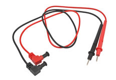 Red and black probes Stock Photo