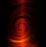 Red black spiral background Royalty Free Stock Image