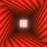 Red black square spiral Stock Photography