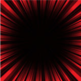 Red and Black Sunburst  Background Royalty Free Stock Images