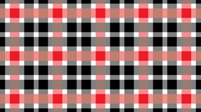 Red and black tablecloth gingham checkered background.Texture for:plaid,tablecloths,clothes, shirts,bedding,blankets.eps-10 Vector royalty free illustration