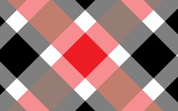 Red and black tablecloth gingham checkered background.Texture for:plaid,tablecloths,clothes, shirts,bedding,blankets.eps-10 Vector stock illustration