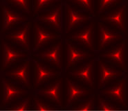 Red & black triangle polygon seamless background. Red and black triangle low polygon seamless background Stock Image