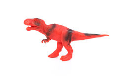 Red and black tyrannosaurus toy Stock Image