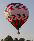 Red Black and White Balloon Royalty Free Stock Images