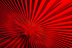Red & Black Zoom Lines Stock Photo