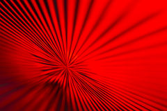 Red & Black Zoom Lines Royalty Free Stock Image