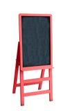 Red blackboard Stock Image