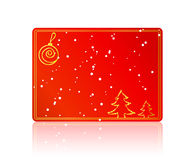 Red Blank Christmas Card Stock Images