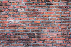 Red block wall Royalty Free Stock Photography
