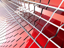 Red blocks Royalty Free Stock Image