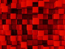 Red blocks background Royalty Free Stock Image
