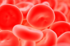 Red blood cell Royalty Free Stock Photo