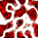 Red blood cells. A 3d render of some blood cells or plasma, isolated over white Stock Images