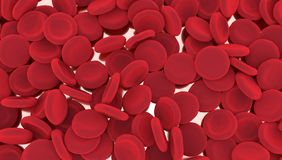 Red blood cells background. Stock Photography