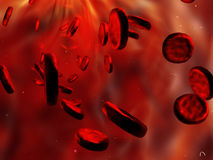Red blood cells. Stock Photo