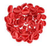 Red blood cells,  Royalty Free Stock Photo