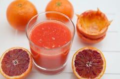 Red Blood Orange Juice Royalty Free Stock Photo