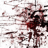 Red blood splatter. On a grunge like background Royalty Free Stock Photography
