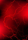 Red blood vessel background Royalty Free Stock Photography