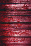 Red bloody Natural old wood texture. Grunge background old panel Royalty Free Stock Image