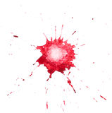 Red blot Stock Photography