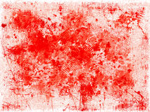 Red blots background Stock Photography