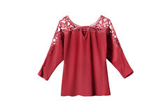 Red Blouse Isolated