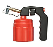 Red blowtorch Stock Images