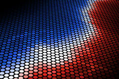 Red and Blue. Graphic illustration of Red and Blue Stock Photography