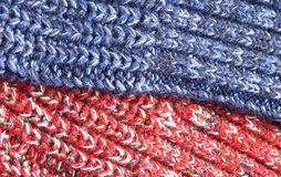 Red and blue Stock Photos
