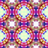 Red and blue abstract seamless pattern Stock Images