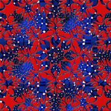 Red and blue abstract. Red and blue weaved abstract background Stock Photo