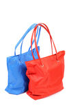 Red and blue bags Royalty Free Stock Photography