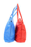 Red and blue bags Royalty Free Stock Photos
