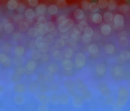 Red and blue bokeh Royalty Free Stock Photos