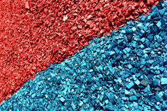 Red blue chips Stock Photography