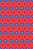 Red and blue circle pattern 2 Stock Photo