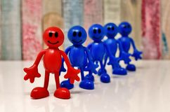 Red, Blue, Cobalt Blue, Toy Royalty Free Stock Photography