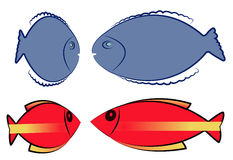 Fish vector Stock Photography