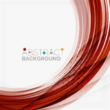 Red and blue color swirl concept Royalty Free Stock Photography